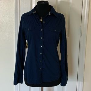 Converse One Star Blue Blouse